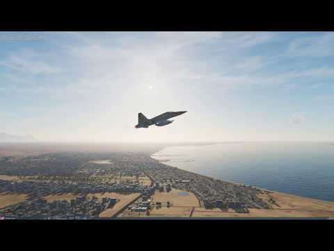 DCS- Persian Gulf- F-5E. Time to put the new rig to the test!