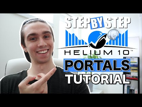 How To Create A PERFECT Helium 10 Portal | Landing Page For AMAZON Sellers | Emails, Pixels, Leads