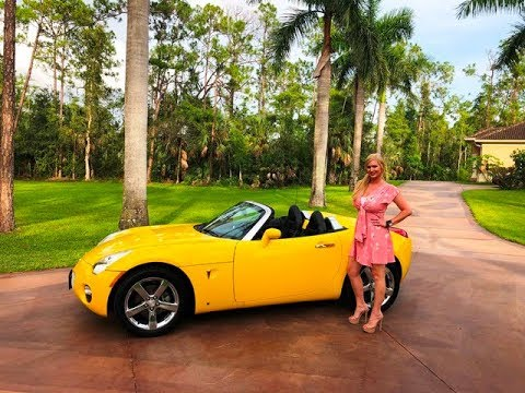 SOLD!!! 2007 Pontiac Solstice Convertible Review w/MaryAnn For Sale By: AutoHaus of Naples!