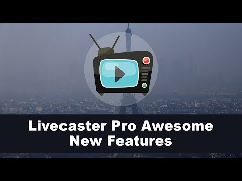 Livecaster Pro Awesome New Features. http://bit.ly/2Zl4xEJ