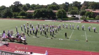 "Thomas A. Edison's Marching Eagles preform this years show, ""Adiemu..."