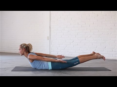 Yoga: How To Do Locust Pose