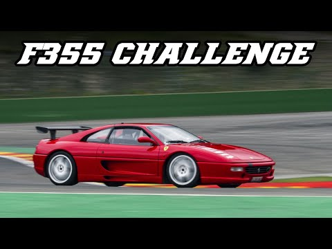 Ferrari F355 challenge - one of the best sounding Ferrari V8's