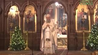 Рождественские богослужения в Иерусалиме(Тепло и душевно прошло рождественское праздничное богослужение в Троицком соборе Иерусалима. Оно объедини..., 2016-01-14T16:33:41.000Z)