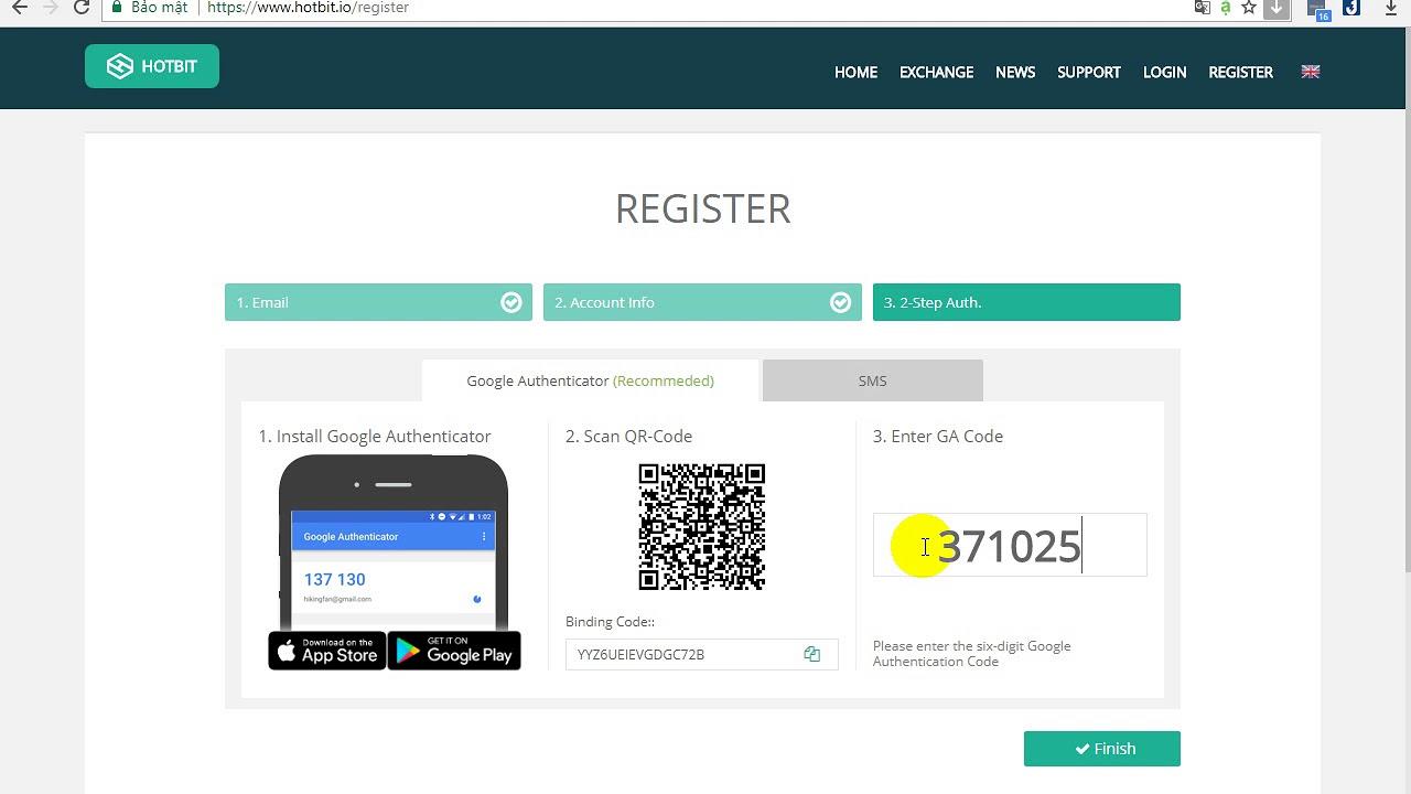 Download Hướng dẫn đăng ký  sàn hotbit.io NHẬN 200 COIN ACAT