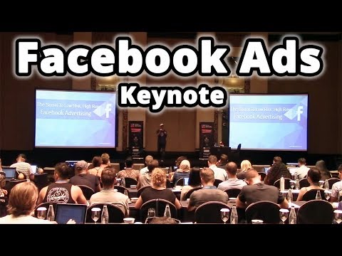 Facebook Advertising Keynote From DMSS - The Secret To Low Risk, High Reward Facebook Advertising