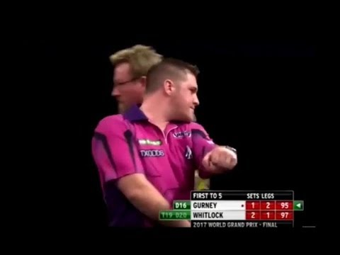 Daryl Gurney vs. Simon Whitlock Incident - 2017 PDC World Grand Prix