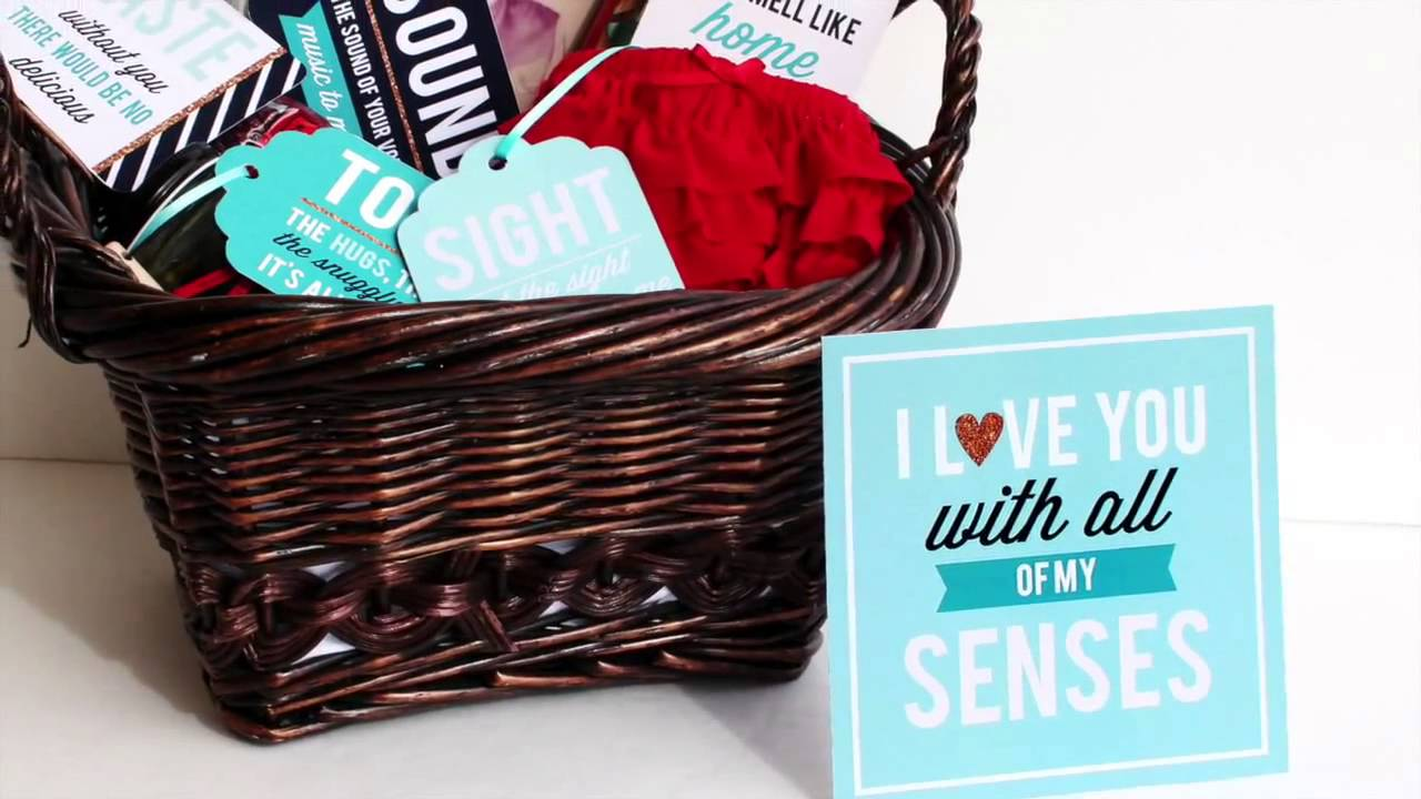 Create The Best Gift For Your Spouse With The Five Senses Gift