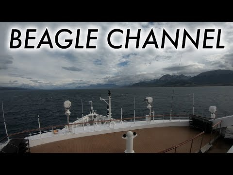 Beagle Channel to Ushuaia (timelapse)