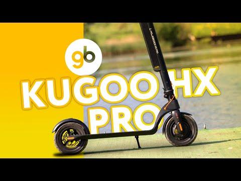 KUGOO HX PRO - электросамокат со съемной батареей и качественной сборкой. Новинка лета 2020 года!