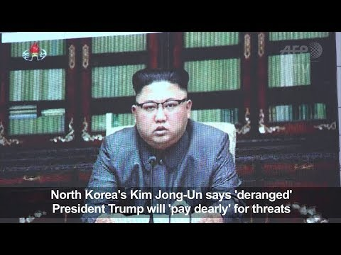 Kim says Trump 'deranged' as Pyongyang hints at Pacific H-bomb
