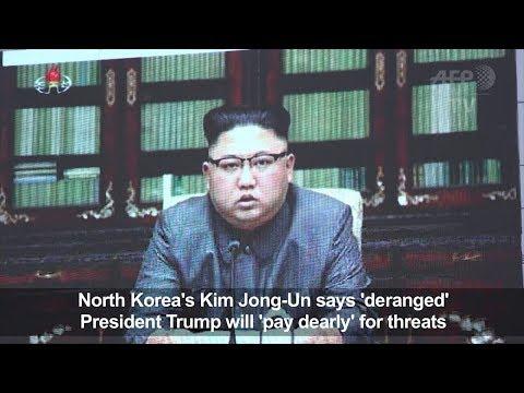 Kim says Trump deranged as Pygyang hints at Pacific Hbomb