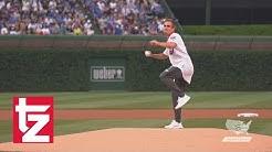 Philipp Lahm spielt Baseball in Chicago - FC Bayern in den USA