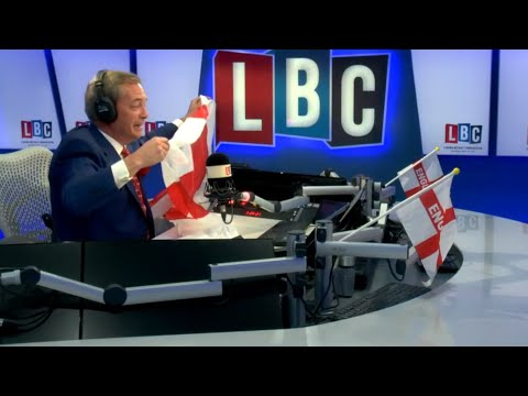 The Nigel Farage Show: St. Georges day special! LBC - 23rd April 2018