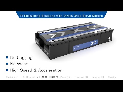 Precision Automation: Drive Principles & Applications:  Linear Motors, Voice Coils, Air Bearings