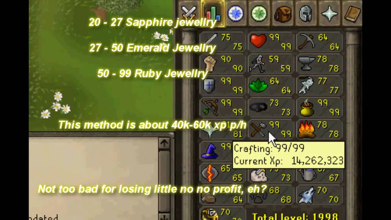 Rs  Fast Crafting Guide