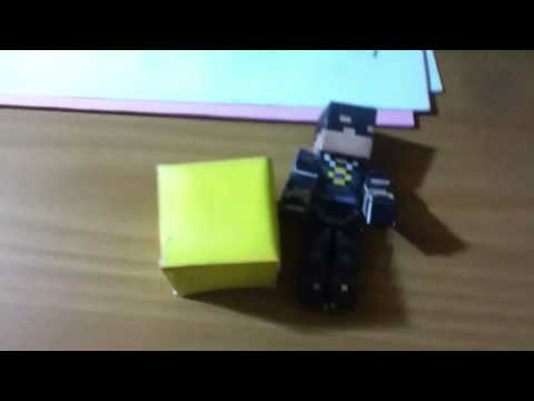 FATHER'S DAY SPECIAL:PAPER MINECRAFT!?!?!?!