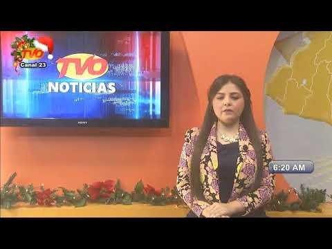 TVO NOTICIAS PRIMERA EMISIÓN 09 DE DICIEMBRE DE 2019