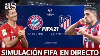 BAYERN vs. ATLÉTICO | FIFA 21: simulación del partido de fase de grupos de la Champions | AS