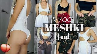 One of Kasey Rayton's most viewed videos: UM.. $700 MESHKI TRY ON HAUL?! BADDEST THOT CLOTHING EVER | KASEY RAYTON