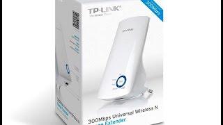 TP-link TL-WA850RE kurulumu gizli ve normal ağlar için...