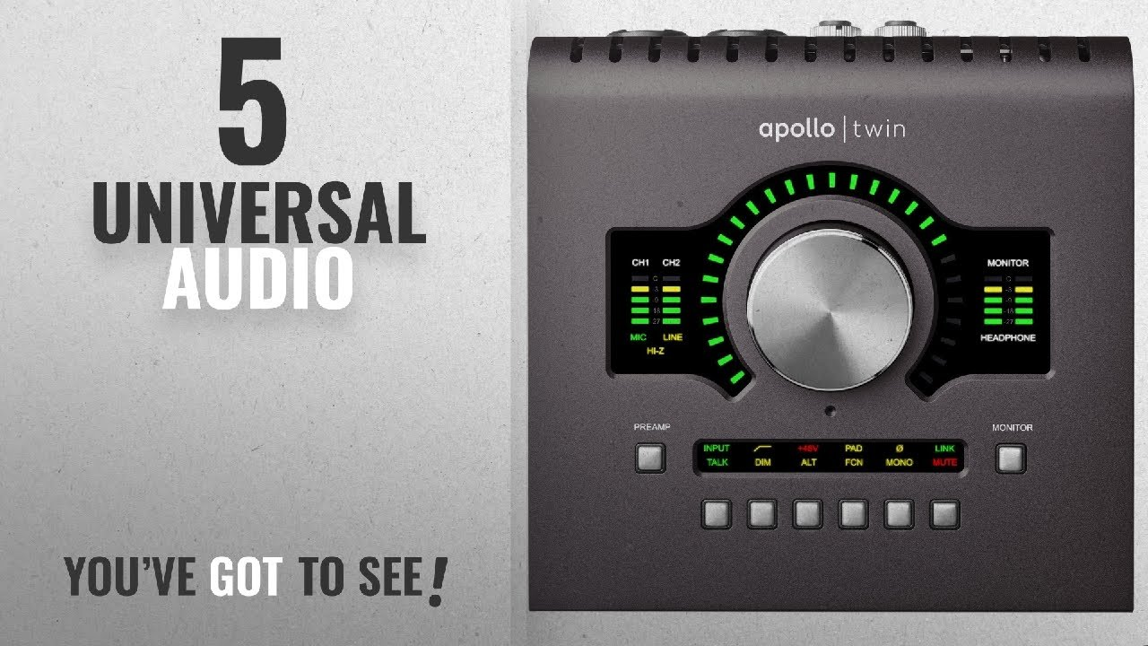 Best Sellers By Universal Audio [2018]: Universal Audio Apollo Twin MKII DUO