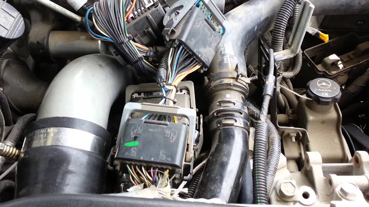 2012 Duramax Fuse Box Duramax Lly Egr Delete And Pcv Reroute Youtube