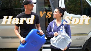 Comparing Water Containers for Extended Boondocking in Van Life or RV Life