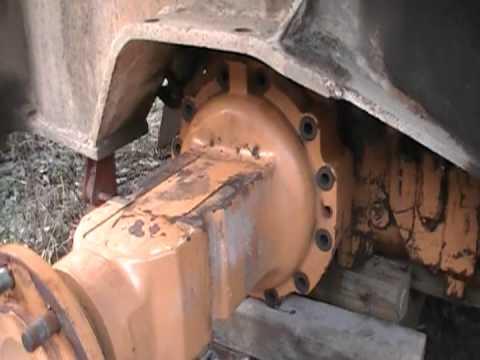 580 case backhoe repair part 2