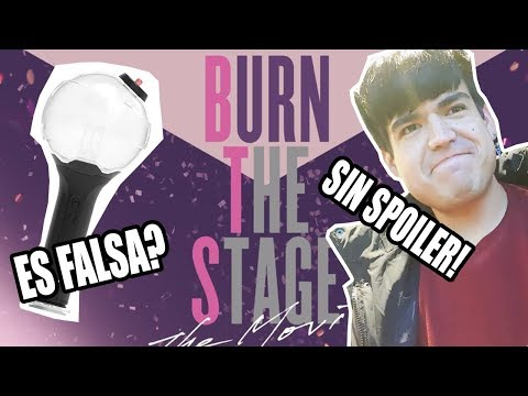 BURN THE STAGE (BTS MOVIE) + FAKE ARMY BOMB?
