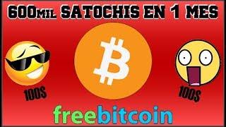 FREEBITCOIN 2017 - 2018   600mil Satoshis en 1 mes = 100$   Estrategia HI-LOW que SI funciona