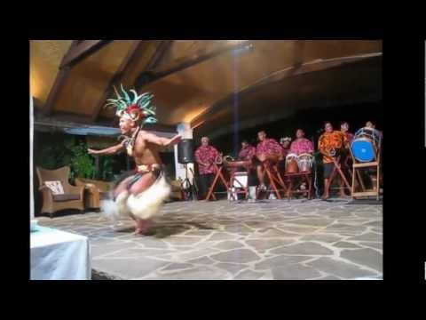 Akirata cultural dance troupe with fire dancers