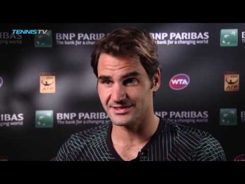 BNP Paribas Open 2017: Roger Federer Rolls Past Rafael Nadal