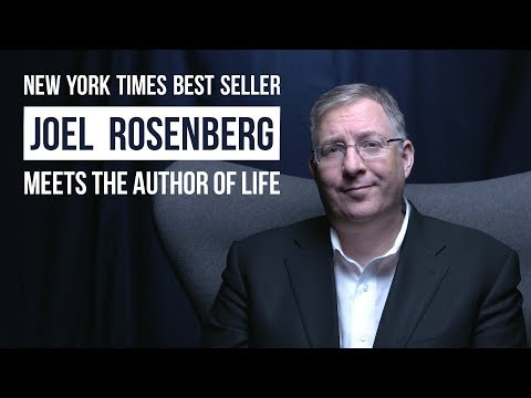 New York Times best seller, Joel Rosenberg, meets the author of life ...