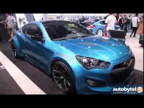 JP Edition Hyundai Genesis Coupe Tuner Car SEMA