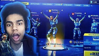 *NEW* UNSTOPPABLE STEELSIGHT SKIN 👀 4 STEELSIGHT SKINS WIN on FORTNITE BATTLE ROYALE