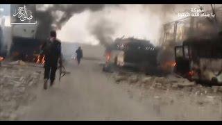 ثوار دمشق يسيطرون على نقاط جديدة بعد كراجات العباسيين..وتدمير دبابات للنظام بحماه-تفاصيل
