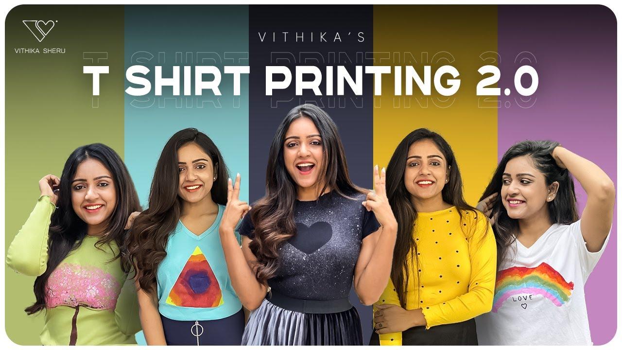 Download T Shirts Printing DIY 2.0 | Most Easiest DIY | Fashion | Vithika Sheru | EP - 59