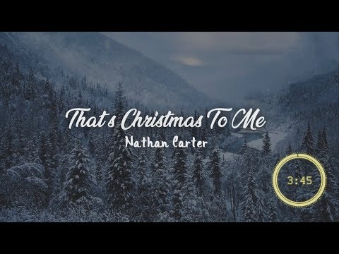 That's Christmas To Me lyrics HD - By Nathan Carter