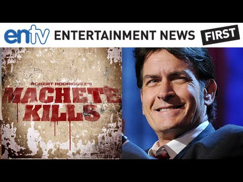 "Charlie Sheen Playing The President: ""Machete Kills"" Film Casts Sheen As POTUS"