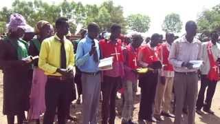 South Sudan Eastern Upper Nile Presbytery Church Nasir Parish youth Group in WGBS- Youth Conference