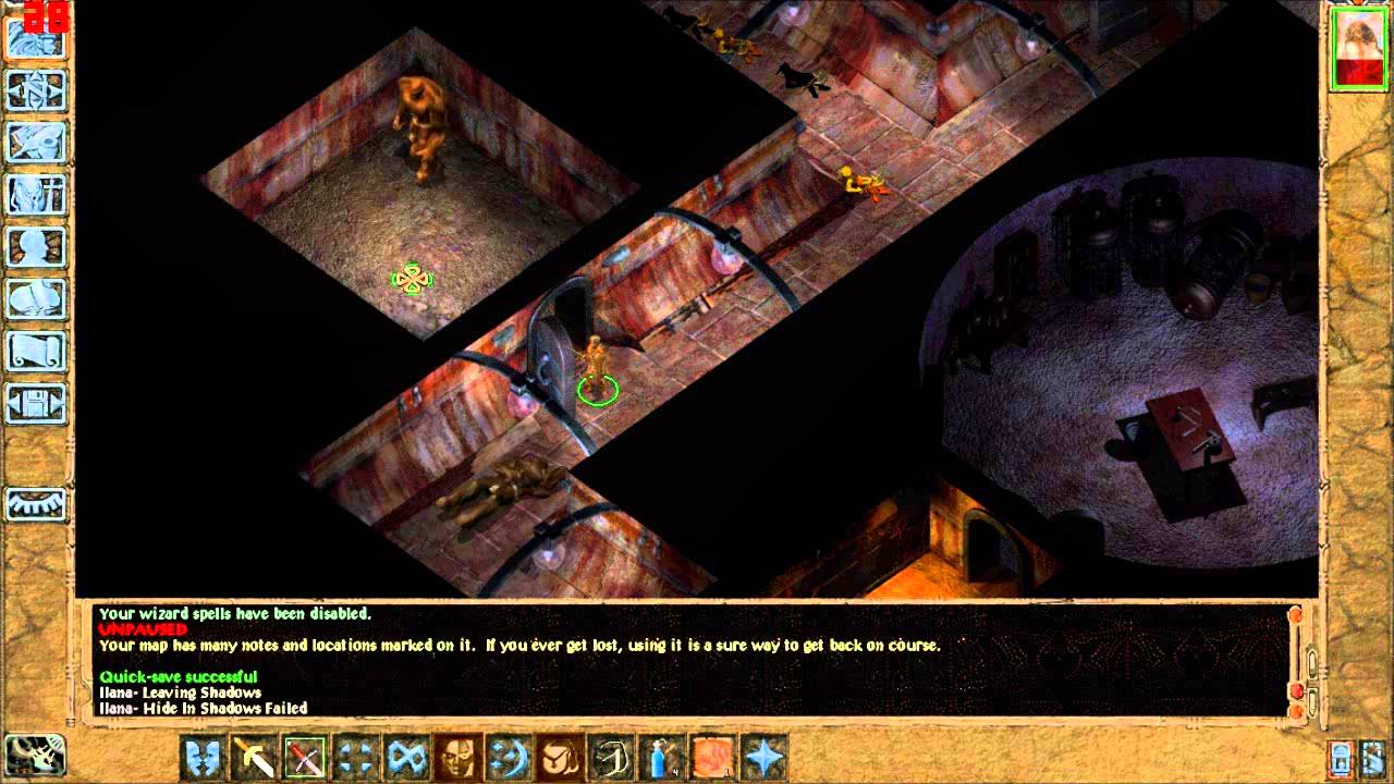 Let S Play Baldur S Gate 2 Solo Run Part 1 Intro Irenicus Dungeon Level 1
