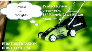 PRODUCT REVIEW: Greenworks 16