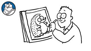 Simon Draws: The Hedgehog - Simon's Cat | CREATIVE