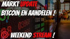 📽Live Weekend Stream | Markt update Bitcoin en Aandelen ! | DoopieCash