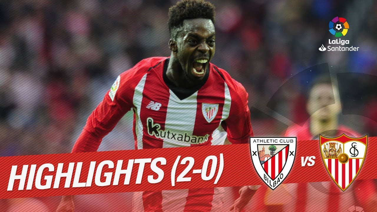 Highlights Athletic Club vs Sevilla FC (2-0) - YouTube