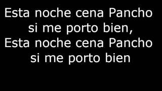 Esta Noche Cena Pancho Marco Flores LETRA