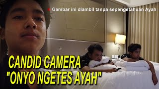 "The Onsu Family - Candid camera ""Onyo ngetes Ayah"""