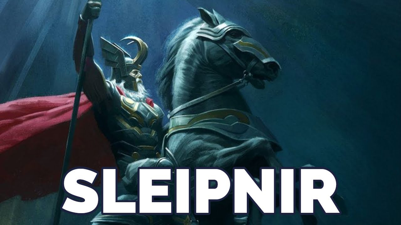 Sleipnir, Le Cheval d'Odin (Mythologie Nordique) - YouTube