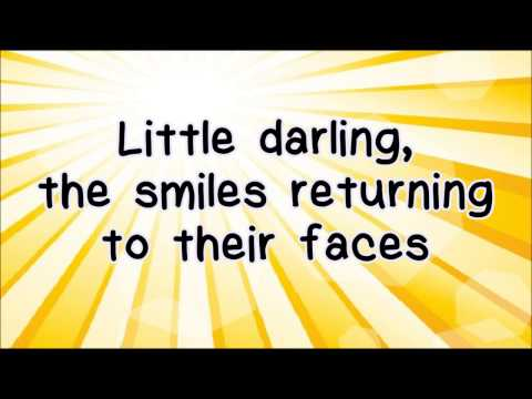 Glee - Here Comes The Sun (feat. Demi Lovato) (Lyrics) HD